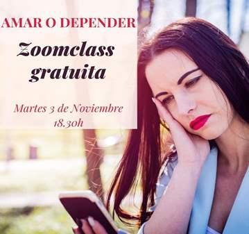 CURSO: ONLINE GRATUITO- AMAR O DEPENDER