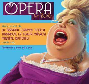 CONCIERTO: OPERA FOR KIDS. OFERTA ENTRADA REDUÏDA
