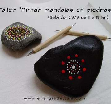 PINTAR MANDALAS EN PIEDRAS