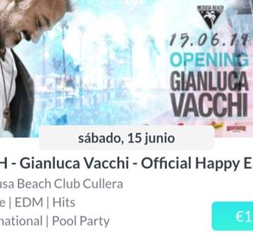 EVENTO: POOL PARTY EN MEDUSA BEACH ON BUS DESDE...