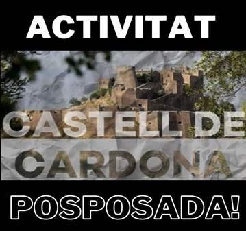 EXCURSIÓN: POSPOSADA - CARDONA I EL SEU CASTELL