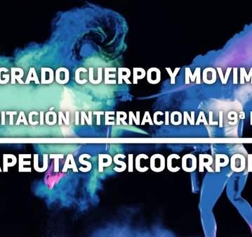 CURSO: POSTGRADO CUERPO Y MOVIMIENTO 9º EDICIÓN