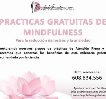 TALLER: PRÁCTICAS GRATUITAS MINDFULNESS -REGIST...