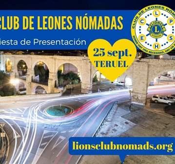 FIESTA: PRESENTACIÓN OFICIAL CLUB DE LEONES NÓM...