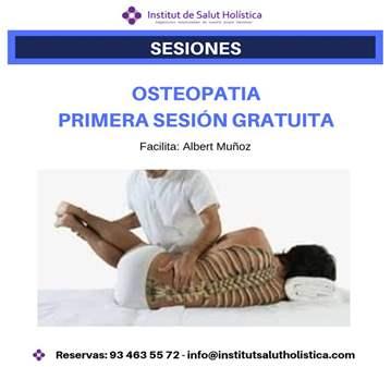 PRIMERA SESIÓN DE OSTEOPATÍA GRATUITA