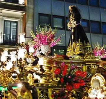 PROCESIÓN DE JESÚS DE LOS GITANOS  Y PICOTEO