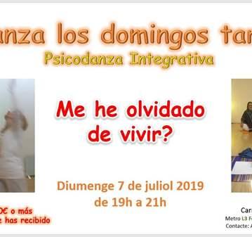 CLASE: PSICODANSA ELS DIUMENGES TARDA