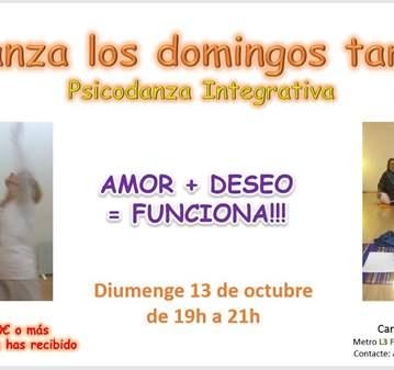 CLASE: PSICODANZA: AMOR + DESEO= FUNCIONA