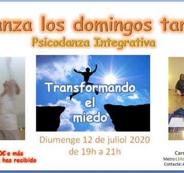 CLASE: PSICODANZA: TRANSFORMADO EL MIEDO