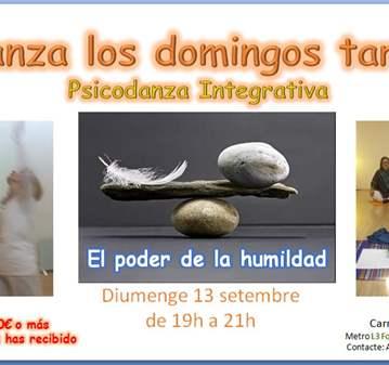 CLASE: PSICODANZA: EL PODER DE LA HUMILDAD