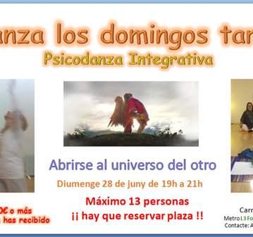 CLASE: PSICODANZA - ABRIRSE AL UNIVERSO DEL OTRO