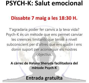 CONFERENCIA: PSYCH-K: SALUT EMOCIONAL