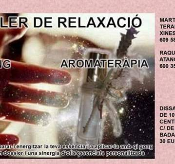 TALLER: QI GONG Y AROMATERAPIA