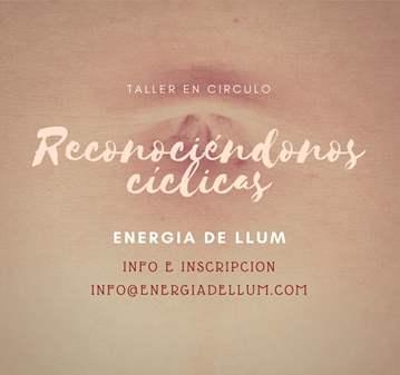 TALLER: RECONOCIÉNDONOS CÍCLICAS (CÍRCULO DE MU...