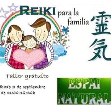 TALLER: REIKI EN FAMILIA