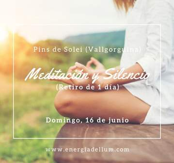 RETIRO DE MEDITACIÓN Y SILENCIO