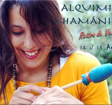 EVENTO: RETIRO ALQUIMIA CHAMÁNICA VIAJE DE TRAN...
