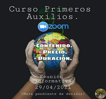 CHARLA: REUNIÓN INFORMATIVA: CURSO DE PRIMEROS ...