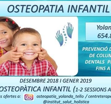 SESIÓN: REVISIÓN OSTEOPÁTICA INFANTIL