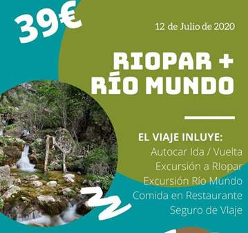 VIAJE: RIOPAR + RÍO MUNDO