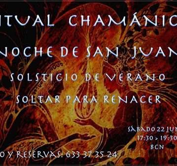 EVENTO: RITUAL CHAMÁNICO; SOLTAR Y RENACER