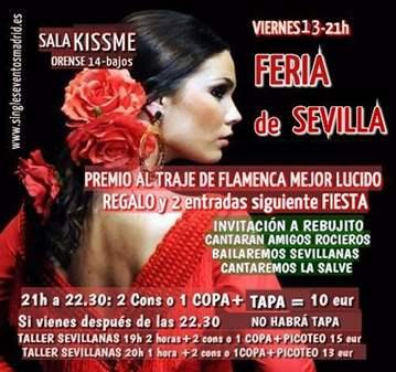 FIESTA: VIVE LA FERIA D SEVILLA EN MADRID-BAILA...