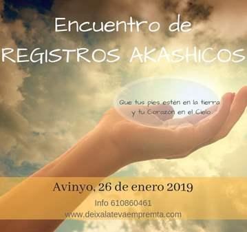 TALLER: REGISTROS AKASHICOS