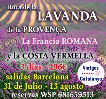 VIAJE: RUTA DE LA LAVANDA PROVENÇA FRANCIA