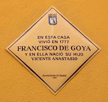 VISITA GUIADA: 7 CASAS DE GOYA EN MADRID Y EL C...