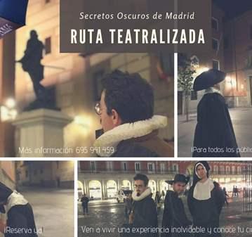 RUTA TEATRALIZADA: SECRETOS OSCUROS DE MADRID
