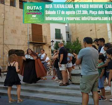VISITA GUIADA: RUTA TEATRALIZADA, UN PASEO MEDI...