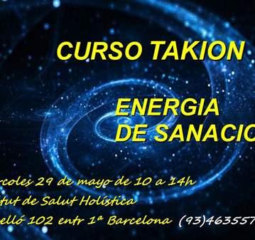 CURSO: SANACIÓN CON ENERGÍA TAKIÓN