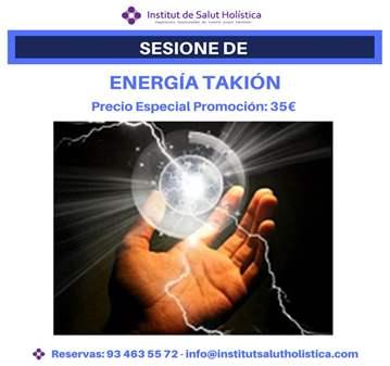 SESIÓN: SANACIÓN CON ENERGIA TAKIÓN EN PROMOCIÓN