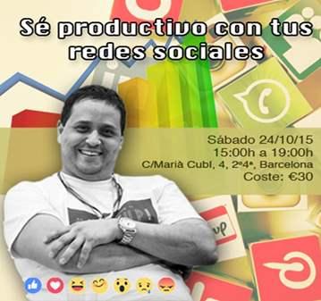TALLER: SE PRODUCTIVO CON TUS REDES SOCIALES