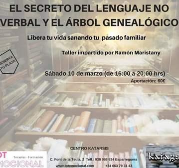 TALLER: SECRETO DEL LENGUAJE NO VERBAL Y ÁRBOL ...