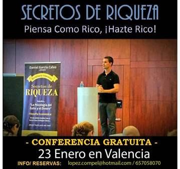 CONFERENCIA: SECRETOS DE RIQUEZA POR DANIEL GAR...