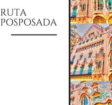 RUTA: SECRETS DEL MODERNISME - RUTA GUIADA