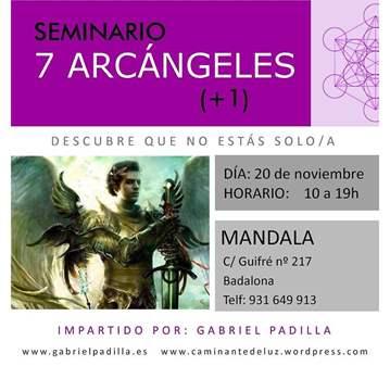 TALLER: SEMINARIO 7 ARCÁNGELES (+1)