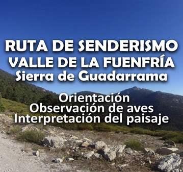 RUTA: SENDERISMO, ORIENTACION Y ORNITOLOGIA LA ...