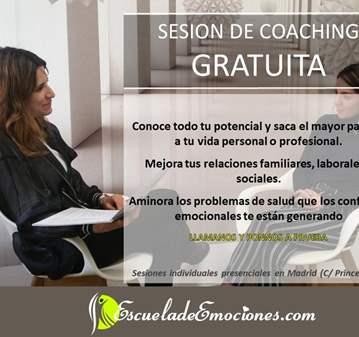 SESIÓN COACHING GRATUITA EN MADRID-PREVIA CITA