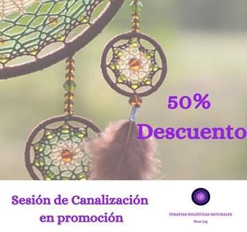 SESIÓN DE CANALIZACIÓN EN PROMOCIÓN