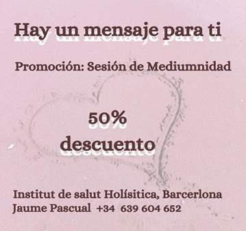 SESIÓN DE MEDIUMNIDAD AL 50%
