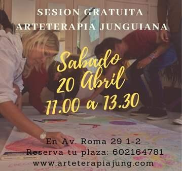 TALLER: SESION GRATUITA DE ARTETERAPIA JUNGUIANA