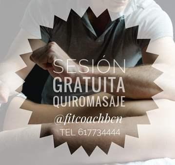 TERAPIA: SESION GRATUITA DE QUIROMASAJE DESCONT...