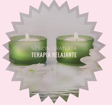 TERAPIA: SESION GRATUITA DE TERAPIA RELAJANTE