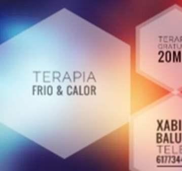 SESIÓN: TERAPIA GRATUITA FRIO&CALOR
