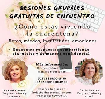 REUNIÓN: SESIÓN GRUPAL GRATUITA DE ENCUENTRO