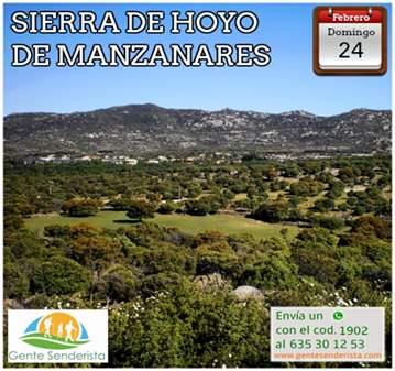 EXCURSIÓN: SIERRA DE HOYO DE MANZANARES