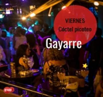 QUEDADA: SINGLE BAR CON COCTEL PICOTEO EN GAYARRE