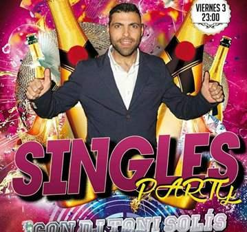 FIESTA: SINGLES PARTY CON TONI SOLÍS